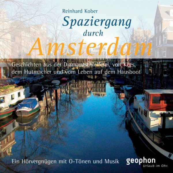 Hörbuch Amsterdam Cover geophon
