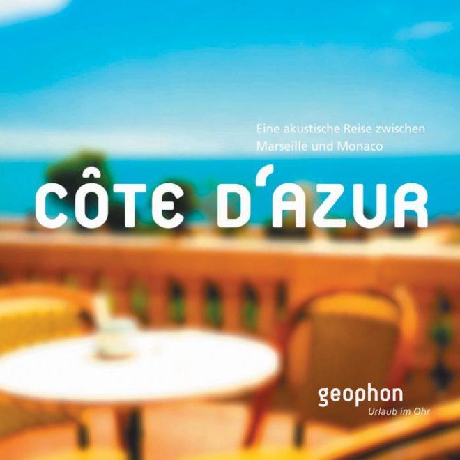 Hörbuch Cote d Azur Cover geophon