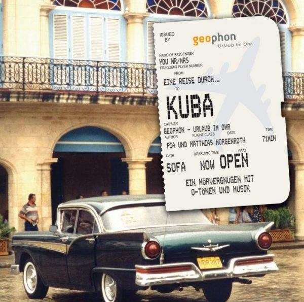 Hörbuch Kuba Cover geophon