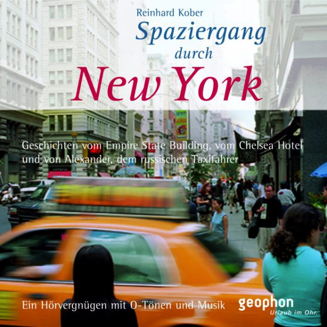 geophon Hörbuch New York Cover Yellow Cab
