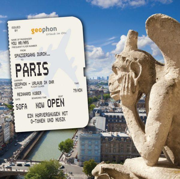 Cover vom Hörbuch über Paris von geophon.