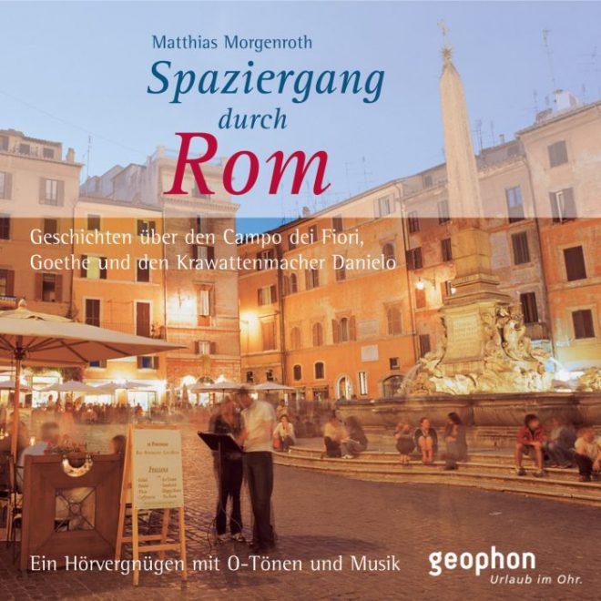 Cover vom geophon Hörbuch über Rom.