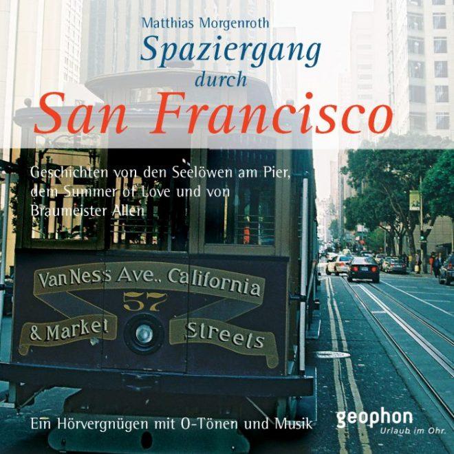 Cover vom geophon Hörbuch über San Francisco.