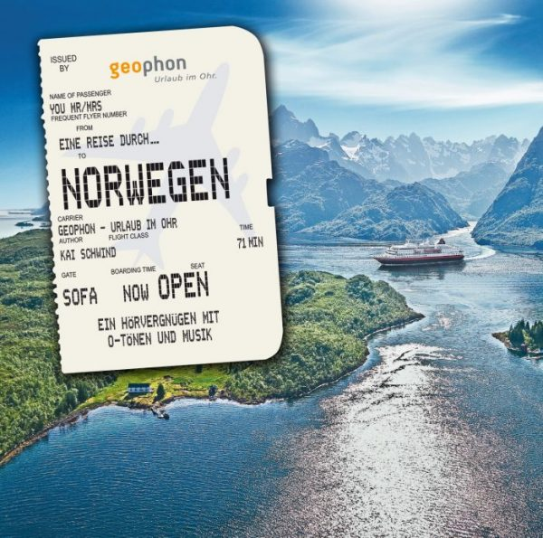 Cover geophon Norwegen Hörbuch