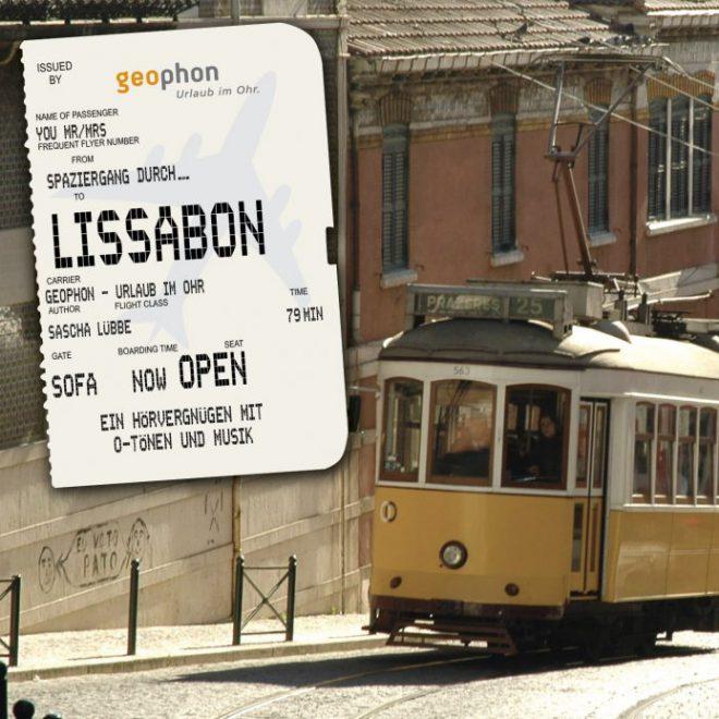 geophon Hörbuch Lissabon Cover