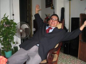 Alfredo, unser Guide durch Santiago de Cuba.