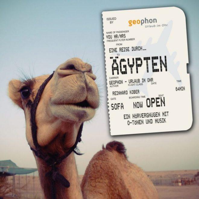 Cover vom geophon Hörbuch über Ägypten.
