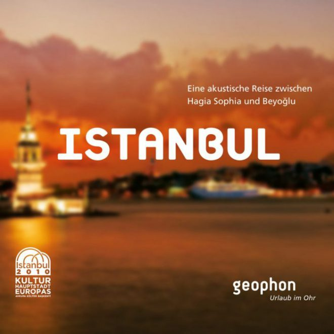 Cover vom geophon Hörbuch über Istanbul.