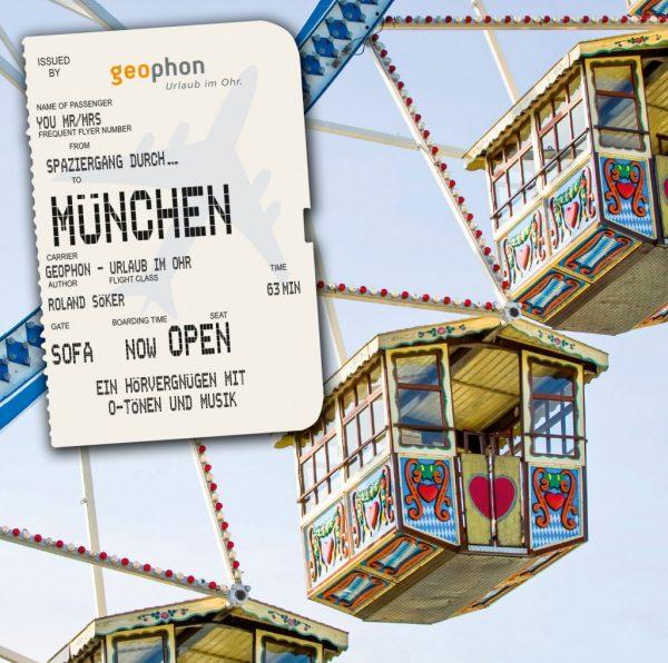 Hörbuch über München Cover