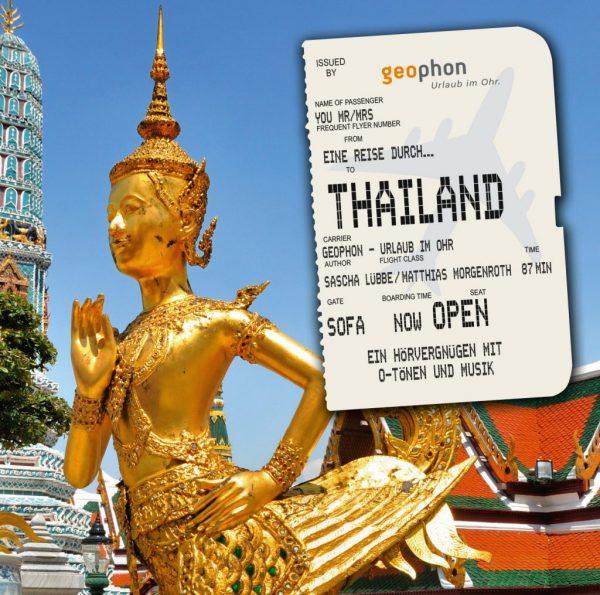 Cover vom geophon Hörbuch über Thailand.