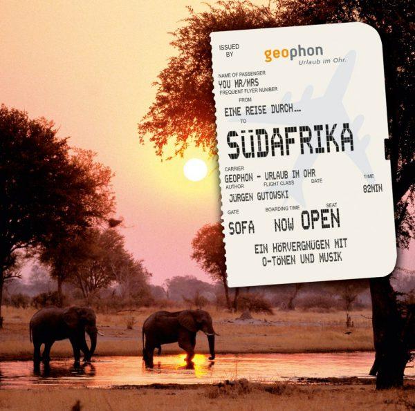 Cover vom geophon Hörbuch über Südafrika