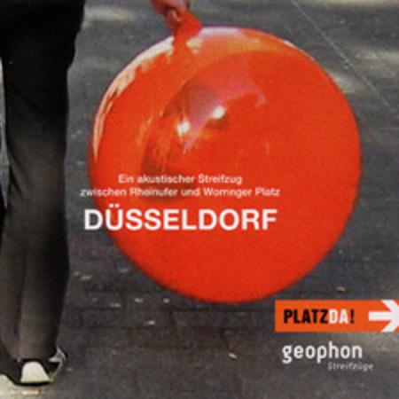 Cover vom geophon Hörbuch über Düsseldorf.