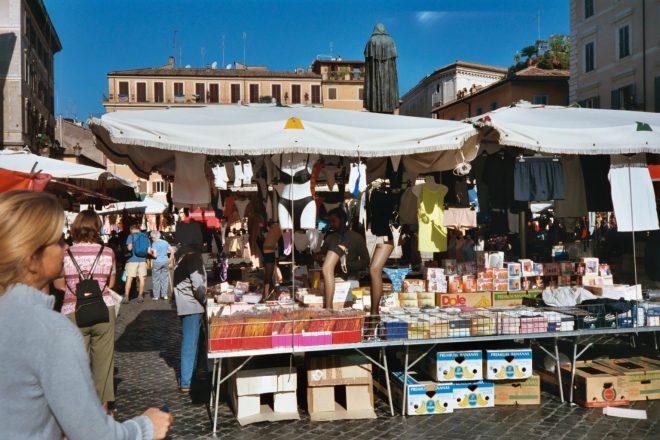 Markt auf dem Campo dei Fiori