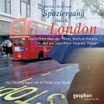 geophon London Cover roter Bus